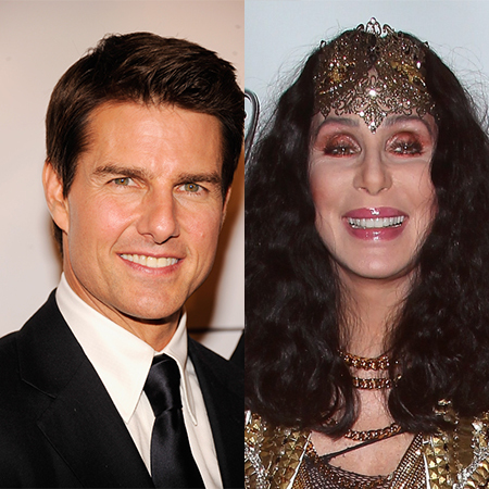 Cher and Tom Cruise