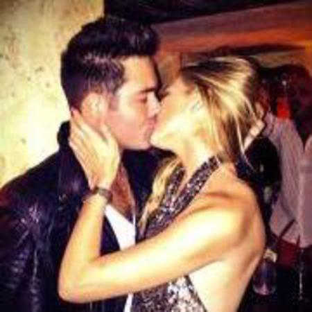 Spencer Matthews and Stephanie Pratt kissing