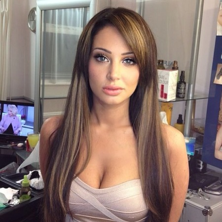 Tulisa debuts drastic Angelina Jolie makeover for Ibiza holiday