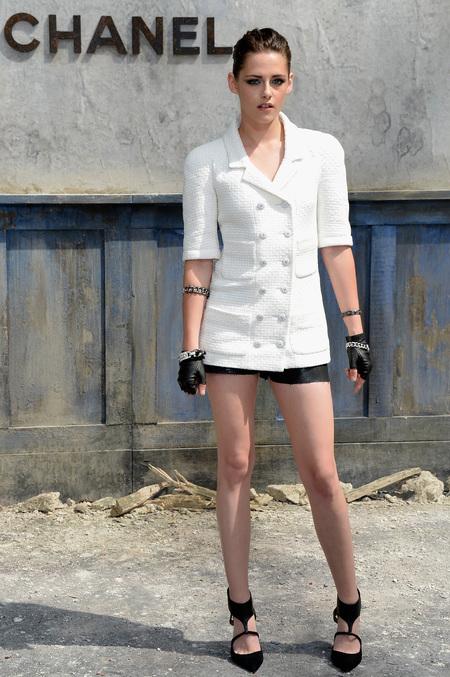Kristen Stewart at Chanel Paris Couture Fashion Week AW13