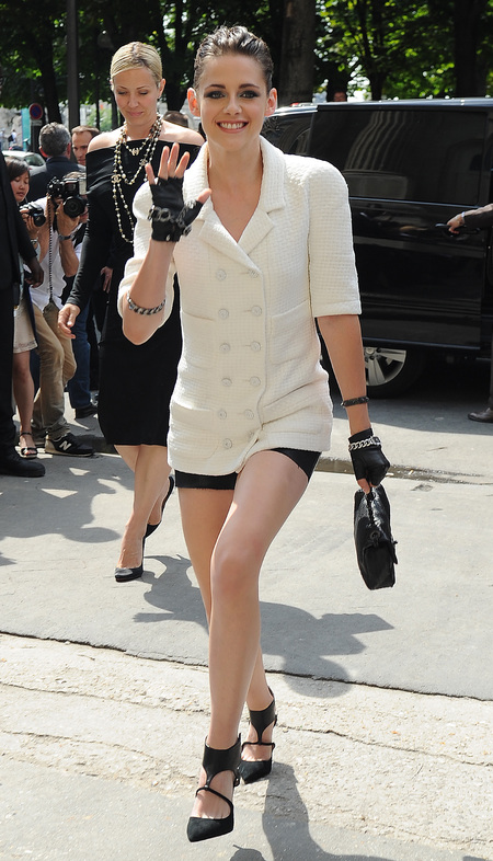 Kristen Stewart at Chanel Paris Couture Fashion Week AW13