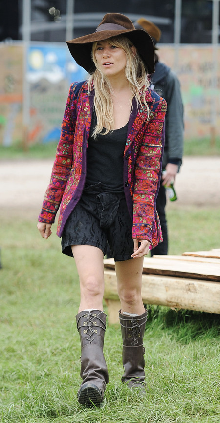 Glastonbury 2013 - Celebrity style