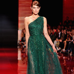 Paris Couture Fashion Week: Emerald Green trend