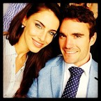 Jessica Lowndes & Thom Evans are loved up