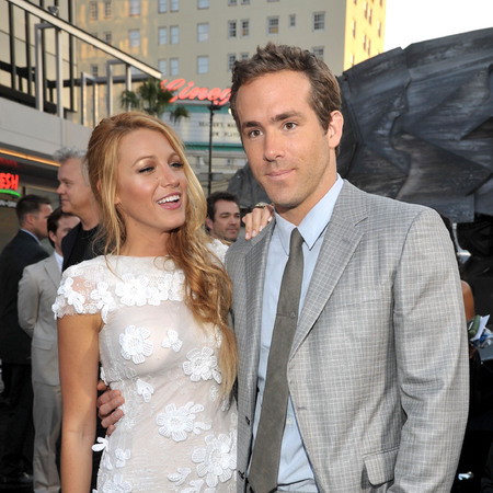 Blake Lively and Ryan Reynolds at the Green Lantern Premiere  in Hollywood,