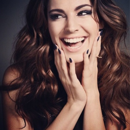 Kelly Brook for New Look cosmetics