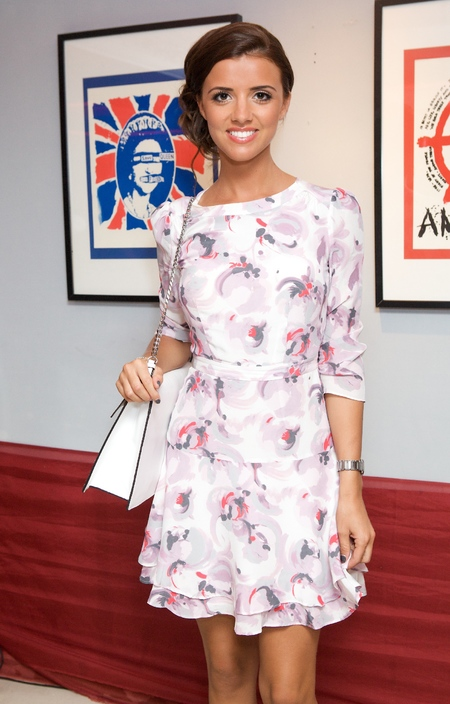 Lucy Mecklenburgh at Next Stop LAX launch