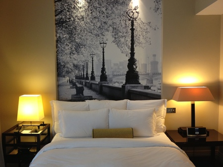 Bedroom at Threadneedles Hotel, London