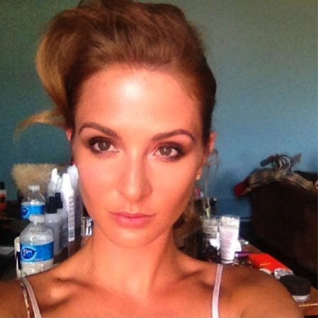 Millie Mackintosh posts backstage beauty snap of upcoming photoshoot