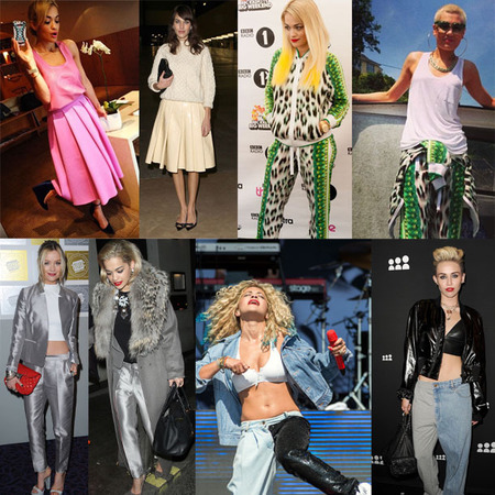 Rita Ora is wearing everyone else's clothes