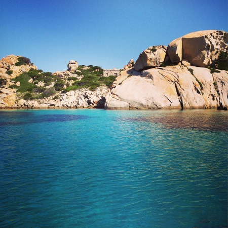 Sea view in Sardinia