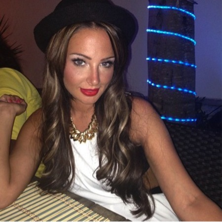 Tulisa's Birthday Beauty Look in Ibiza