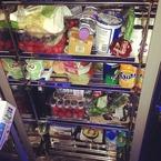 Jessie J - show us your fridge