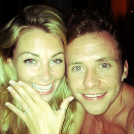 Danny Jones announces engagement