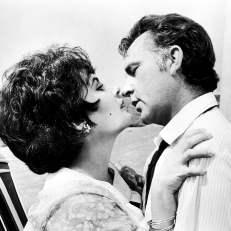 Elizabeth Taylor and Richard Burton in a still from 'The Comedians'