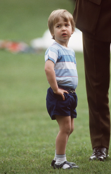 Prince William's baby pictures