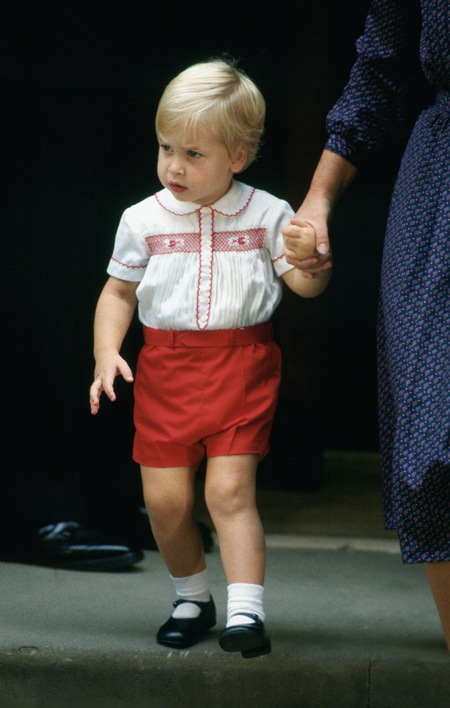 Prince William's baby photos