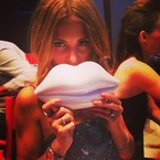 Millie Mackintosh's Lulu Guinness birthday bag