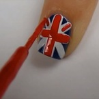 NAIL HOW-TO: Royal baby nail art tutorial