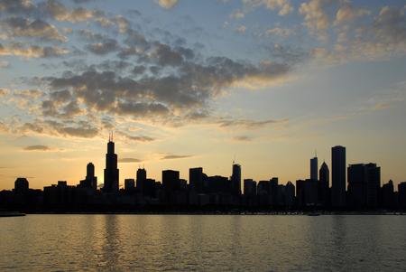 Chicago Skyline Illinois travel