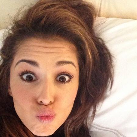 Cheryl Cole Instagram selfie
