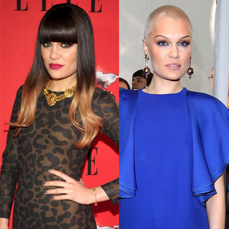 Jessie J before and after makeover beauty