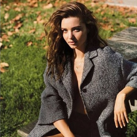 Miranda Kerr strips off for British Vogue