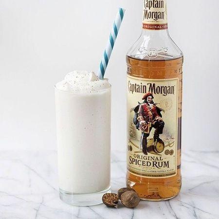 Rum milkshake