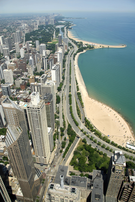Chicago Lake and beach