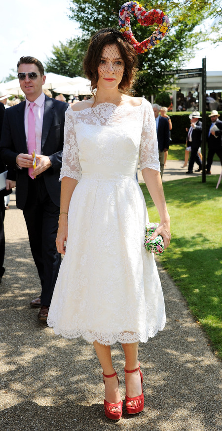 Anna Friel at Glorious Goodwood