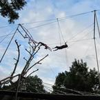 Flying trapeze your way to fun & flat abs