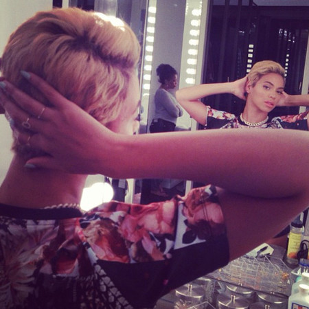 BEYONCE SHORT BLONDE PIXIE CROP HAIR