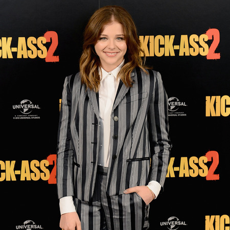 Chloe Moretz suits up for Kick-Ass 2 London premiere