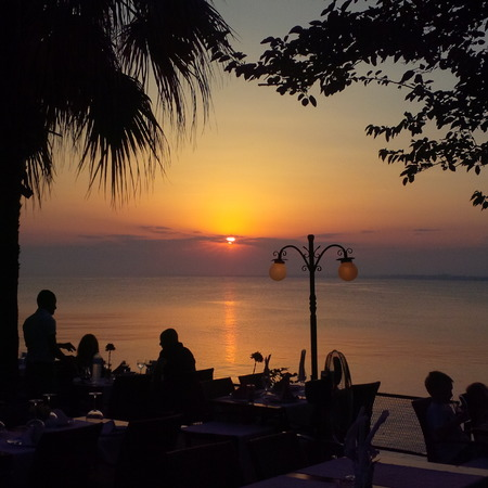 Turkey Antalya Side Sensatori sunset