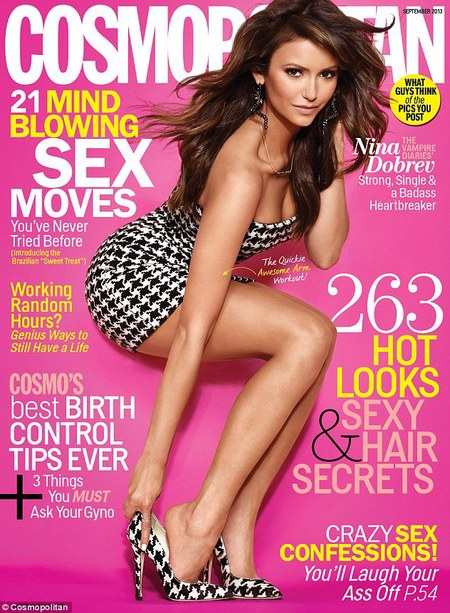 Nina Dobrev Cosmopolitan US September issue