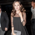 Kelly Brook wows in LBD after dumping Danny Cipriani