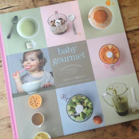 Fearne Cotton baby gourmet food book