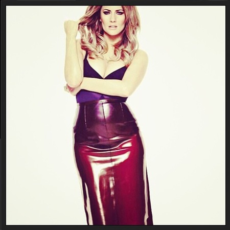 Caroline Flack for The Times Magazine