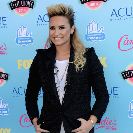 Demi Lovato at Teen Choice Awards 2013