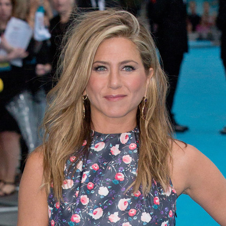 Jennifer Aniston in Dior florals at We're The Millers UK premiere