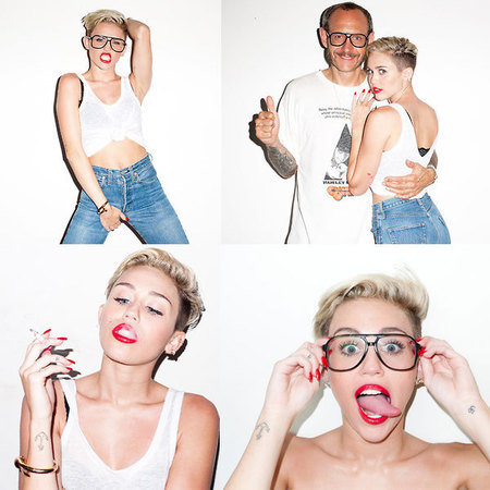 Miley Cyrus twerks in new Terry Richardson shoot