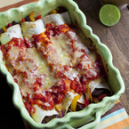 Mexican Night: Beef Enchiladas with Chilli Sauce