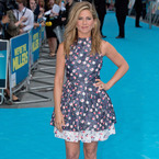 Jennifer Aniston rocks flirty Dior florals in London