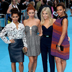 The Saturdays get dolled up for We're The Millers premiere