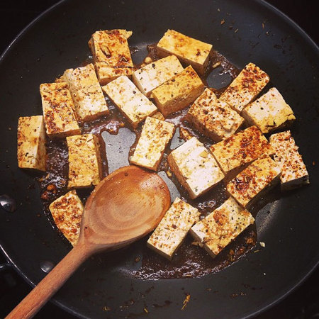 Jessie J fried tofu recipe