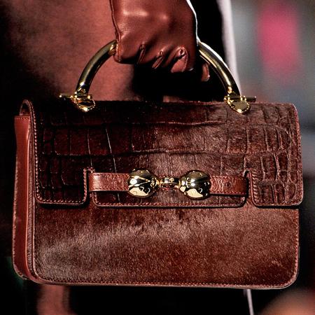 AW13 Fuzzy handbag