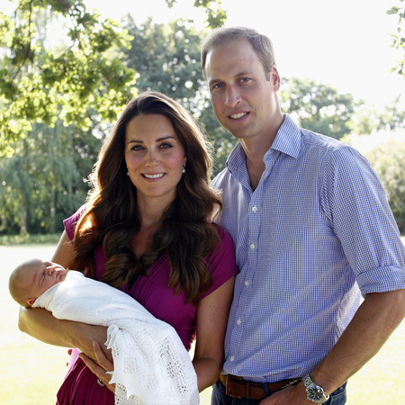 Prince George, Kate Middleton and Prince William