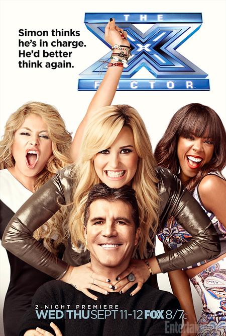 Simon Cowell in X Factor USA promo