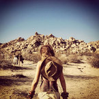 Cheryl Cole's desert trek holiday