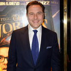 David Walliams supports daddy Simon Cowell